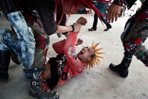 yangon punk scene photographer  bangkok realfeatures