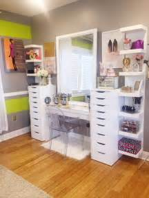Makeup Desk Ikea Alex by 20 Modern Diy Makeup Organizers With Romantic Feel Home
