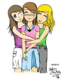 3 peas in a pod two friends hugging clipart 35
