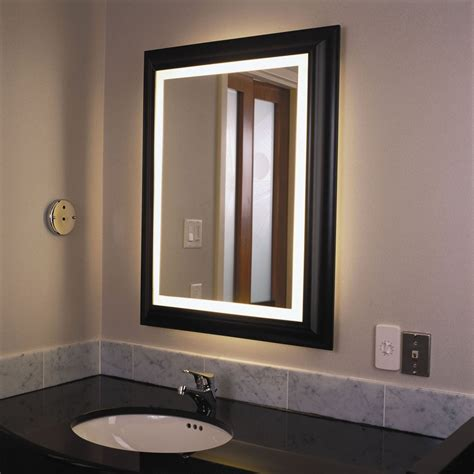 bathroom wall mirror wall lights design lighted bathroom wall mirror led