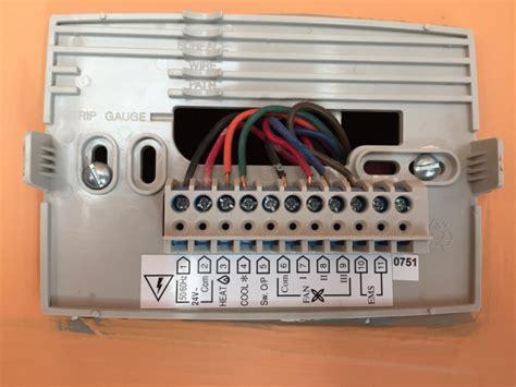 Help Wiring New Honeywell Thermostat Hvac Diy