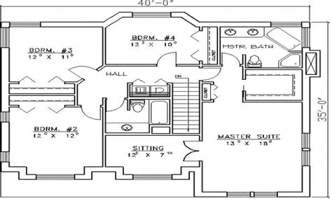 residential house plans  bedrooms  bedroom house plans