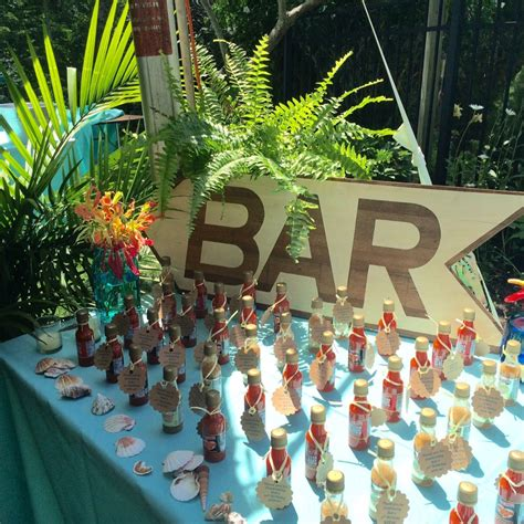 Caribbean Themed Birthday Partyaquaturquoise