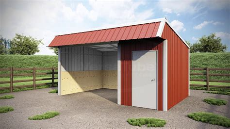 loafing shed plans free 12 x 18 x 8 single slope loafing shed