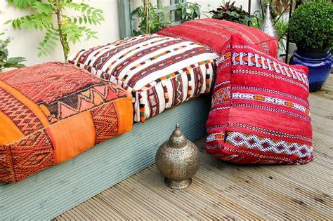 coussin de sol marocain la déco épurée