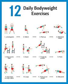 Body Weight Back Workout Exercises