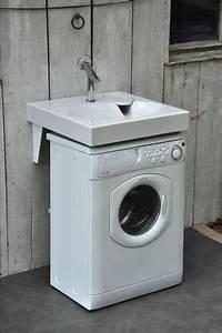 But Machine A Laver : lavabo gain de place sur machine laver ~ Melissatoandfro.com Idées de Décoration
