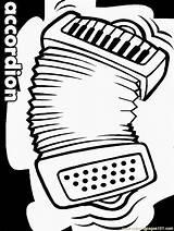 Accordion Coloringpages101 sketch template