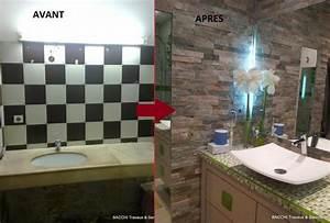 Rénovation Salle De Bain Avant Après : r novation d coration appartement villa home staging ~ Dallasstarsshop.com Idées de Décoration