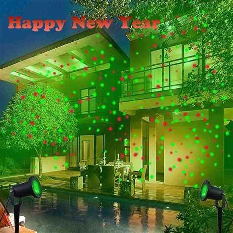 Outside Projector Lights by New Waterproof Outdoor Lights Laser Projector