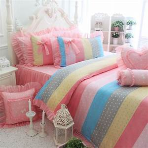 Rainbow Bedding For Girls Video And Photos
