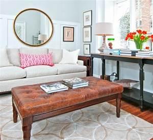 le canape lin pour un salon style en 45 images magnifiques With tapis d entrée avec canapé convertible de style ancien