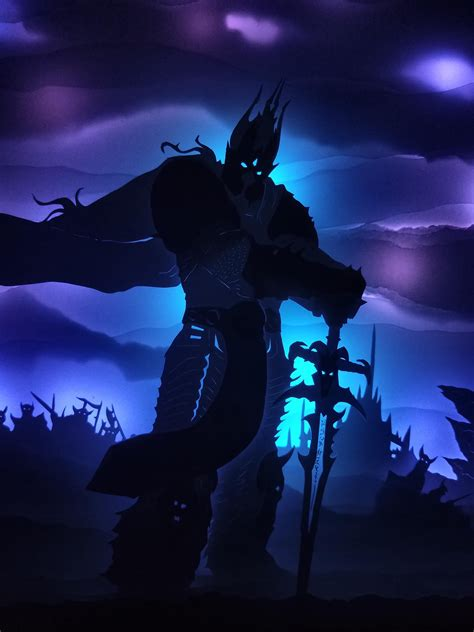 I find calia just an attempt from the writing team to neuter the forsaken as a whole. Arthas Menethil, the Lich King Papercut Shadowbox by me! : wow