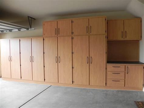 Workshop Storage Cupboards by Garage Cabinets Plans Solutions Projects In 2019