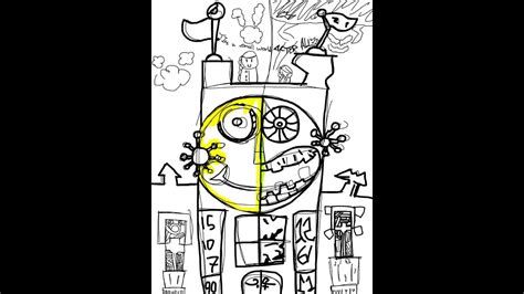 Lets Drawepic Mickeythe Clocktower Youtube