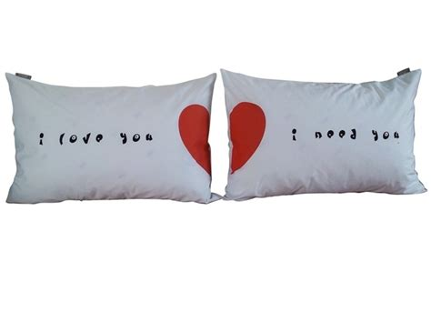 i you i pillow cases 1000 images about couples bedding on