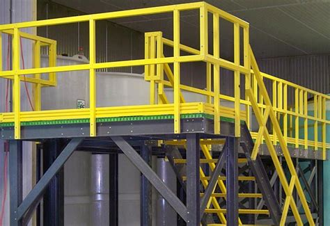 composite access platforms ultra fiberglass systems