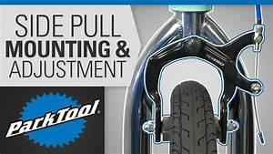 Brake Caliper Mounting  U0026 Adjustment - Side Pull