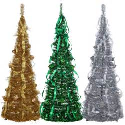 7ft Pre Lit Christmas Tree Ebay by Homegear 5ft Artificial Decorated Collapsible Christmas