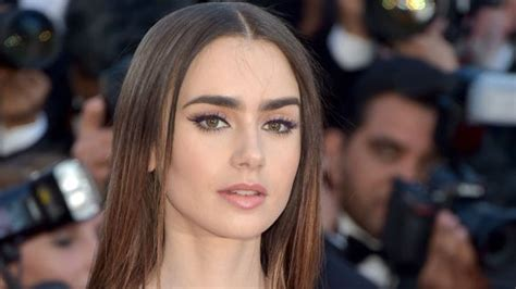 bone lily collins  shockingly complimented