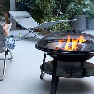Cheminée Barbecue Exterieur : chemin e d 39 ext rieur somagic brasero 70 cm garden deco and kitchens ~ Preciouscoupons.com Idées de Décoration