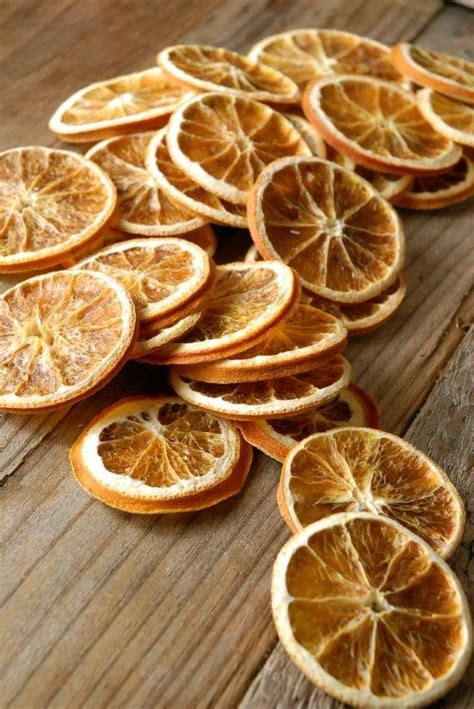 dried orange slices  pieces