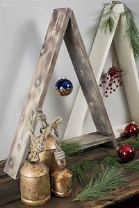 Diy, Wooden, Minimalist, Christmas, Tree