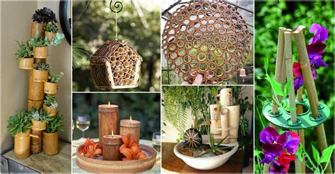 More than 2000 bamboo wall decor at pleasant prices up to 17 usd fast and free worldwide shipping! DIY Easy Bamboo Crafts That You Will Have To See - Garden Ideas & Outdoor Decor