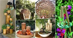 Diy, Easy, Bamboo, Crafts, That, You, Will, Have, To, See
