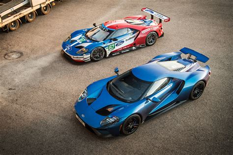 Ford Car :  Ford Gt Road Car Vs Gte Lm Racer