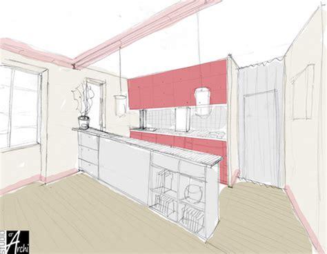 ouvrir cuisine ouvrir la cuisine sur le salon studio d 39 archi le d 39 architecte de nicolas sallavuard