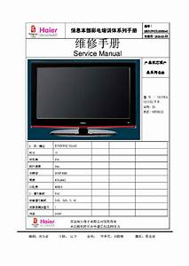 Haier T370xw02 Vg Au Lcd Tv Service Manual Service Manual Download  Schematics  Eeprom  Repair