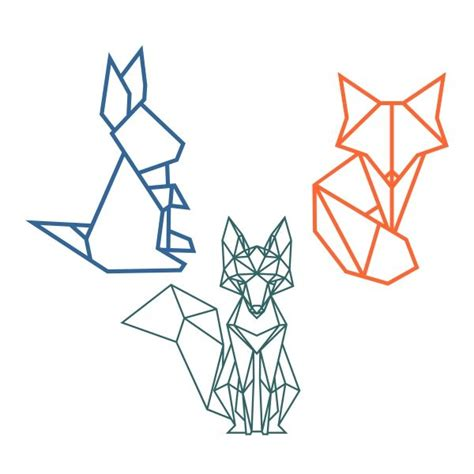 ideas  fox silhouette  pinterest fox