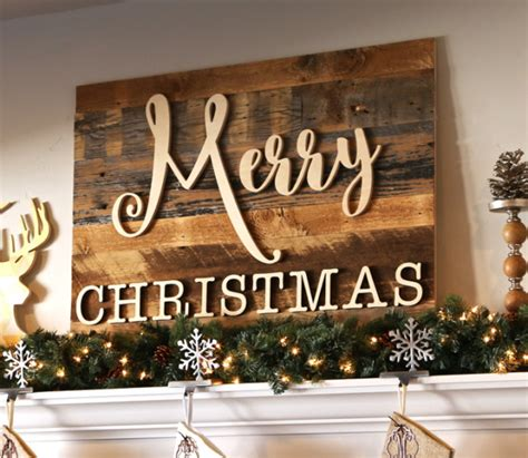 reclaimed wood merry christmas sign craftcutscom