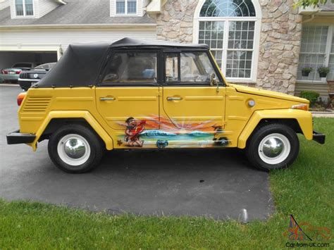 Vw Thing by Volkswagen Thing Convertible 1973 Vw Show Condition 27 632
