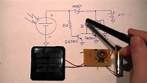 Minimal Solar Night Light Circuit