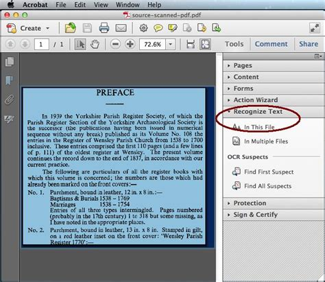 How To Perform Adobe Ocr On Scanned Files (adobe X/xi/dc