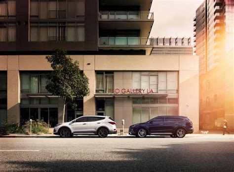 ford edge   hyundai santa fe sport compare cars