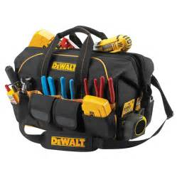 Padded Storage Benches by Shop Dewalt Polyester Zippered Closed Tool Bag At Lowes Com