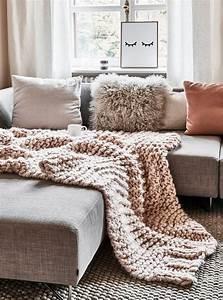 Plaids Für Sofas : handgefertigtes woll plaid super chunky in 2018 ab auf 39 s sofa pinterest kissen sofa ~ Markanthonyermac.com Haus und Dekorationen