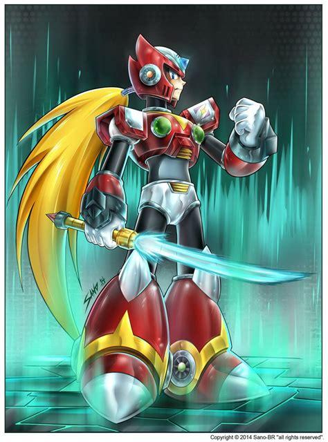 Zero Megaman X4 By Sano Br On Deviantart Other Fan Art