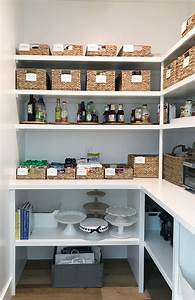 re organized updated pantry simply organized