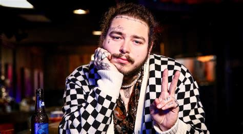 Post Malone's Postmates Tip Was A Copy Of His Upcoming Album