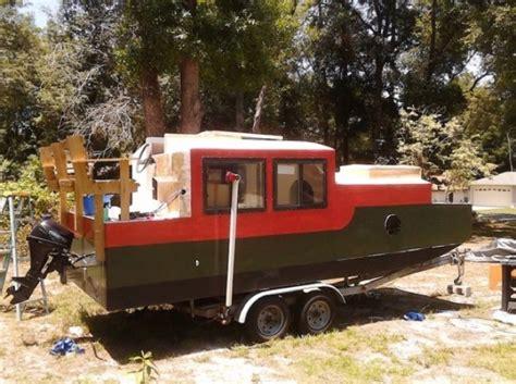 diy shantyboat   rent  florida