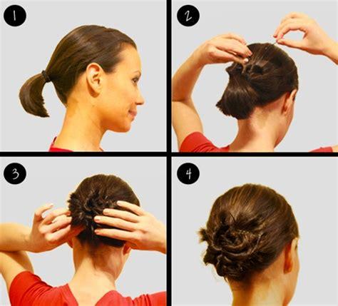 hair buns styles for medium hair 10 updo hairstyles for hair popular haircuts 5313