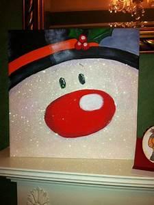 31, Trendy, Painting, Ideas, On, Canvas, Christmas