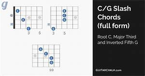 C  G Guitar Chord Lesson And Reference