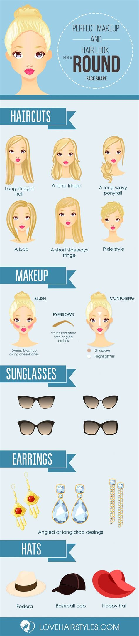best 25 round face shapes ideas on pinterest