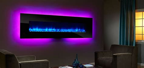simplifire wall mount electric fireplace series
