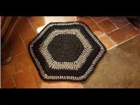 tappeto all uncinetto tutorial tappeto all uncinetto facilissimo alfombra